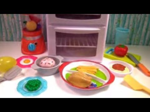 Noodle Cooking, Baby Kitchen Playset, Little Bus, Learn Numbers & Colors, Surprised Eggs Toys - YouTube