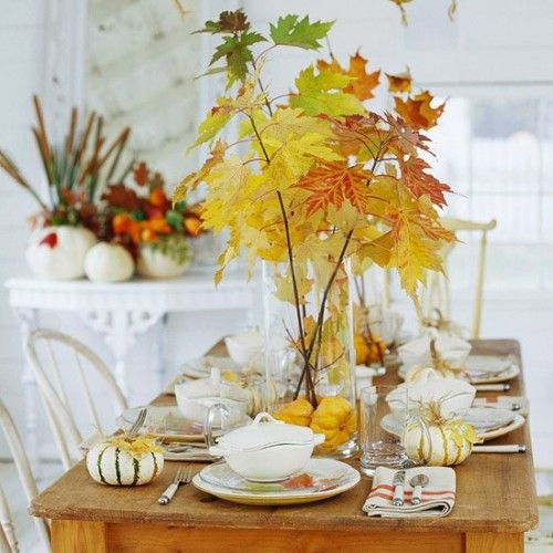 Best Fall Decor Images On Pinterest - 67 cool fall table decorating ideas