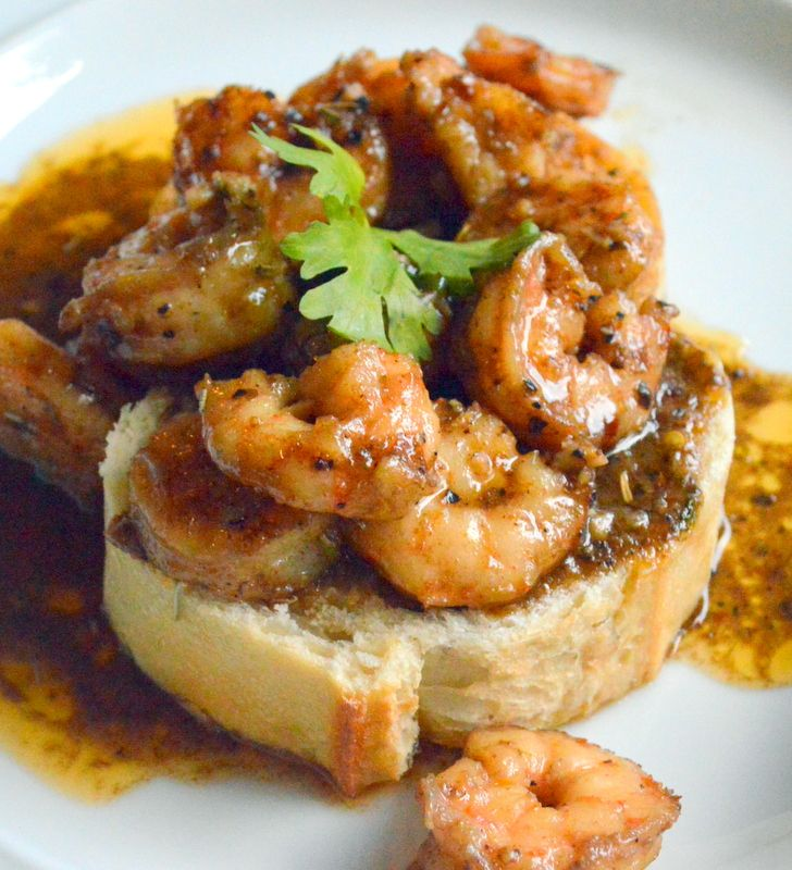 Barbequed Shrimp Cajun Style
