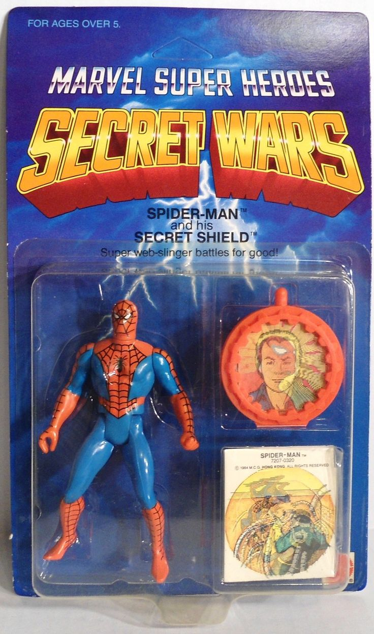 SECRET WARS SPIDER-MAN