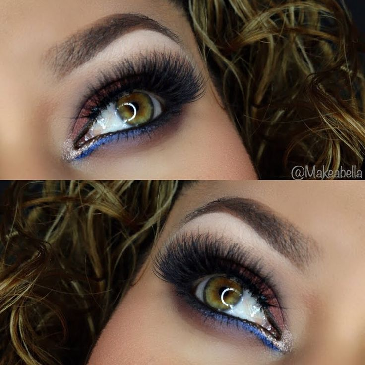 Preen.Me beauty guru Alondra redefines glamour with this regal and sophisticated eye #makeup. Discover the palette she used in this look: