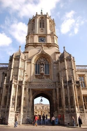 Christ Church College, also known as The House.  The college chapel is Oxfords city cathedral