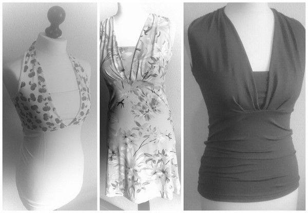 """Sommertop """"hetta"""" - Gr. 32-52 inkl. Stillfunktion und mehr / zum stillen oder als Schwangerschaftsshirt / Umstandskleidung oder normal zu nähen"""
