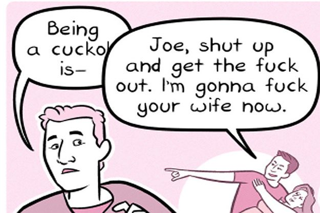 A Comic Tried To Explain What A Cuck Is And Now It's Become A Meme