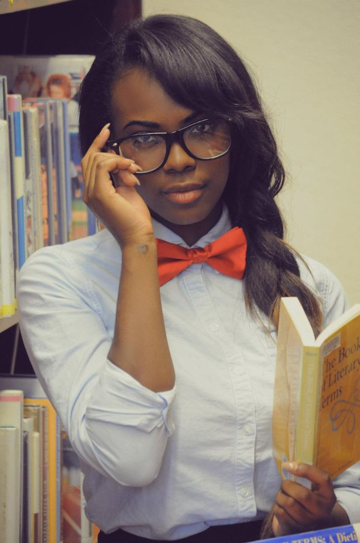 """whatagirlshouldwear:  Loving the women in bow ties trend.  You say """"trend"""" we say """"lifestyle""""."""