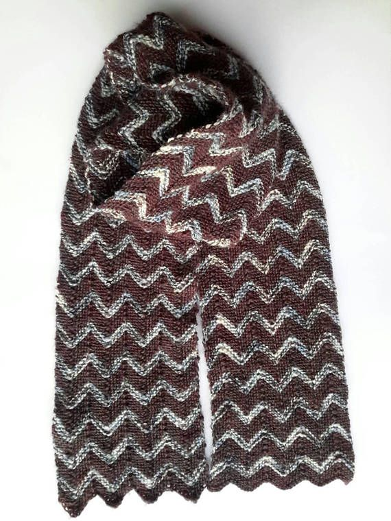 Check out this item in my Etsy shop https://www.etsy.com/uk/listing/573115353/brown-scarf-knitted-scarf-mens-scarf