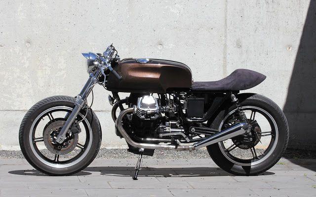 ϟ Hell Kustom ϟ: Moto Guzzi Strada 750 1994 By Tricana Motorcycles