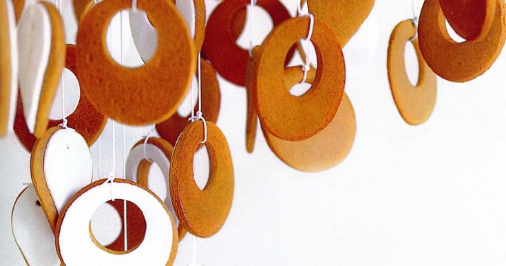 Spice up the room and tantalise your taste buds with these elegant Christmas gingerbread biscuit decorations.