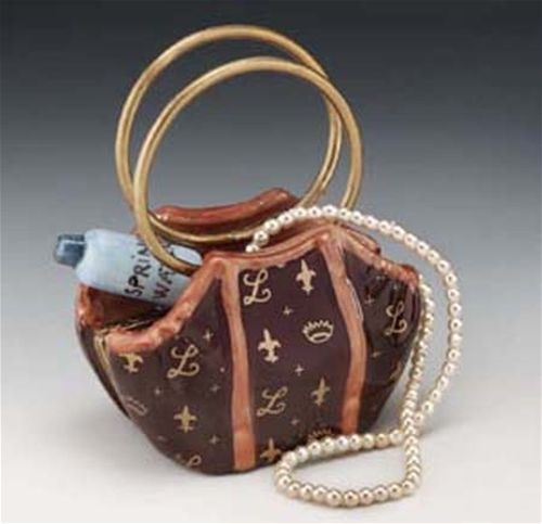 Limoges Purse with Water and Necklace Box The Cottage Shop - $159.00