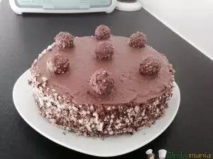 torta ferrero rochet Bimby