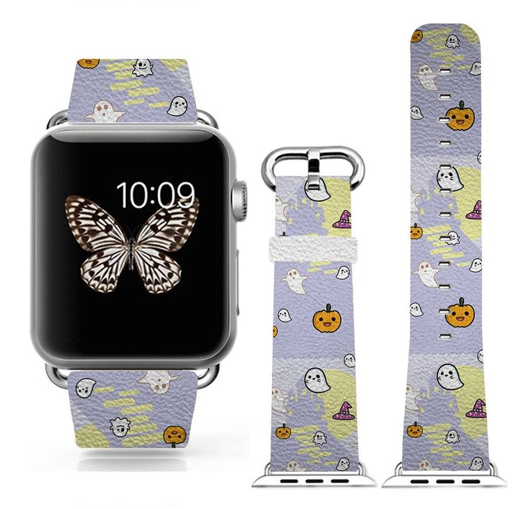 3C-LIFE iwatch/iwatch 2 fashion band for Apple Watch/Apple Watch 2 Sport 42mm Space Aluminum Case, Cartoon Ghost Halloween Theme. 1.Perfect fit for your iwatch/iwatch 2 42mm. 2.The band including the band, the band adaptor and the screw driver, fully perfect for your iwatch. 3.Give your iwatch a new look, the iwatch band looks like a part of the iwatch, best of the best. 4.New fashion: one iwatch but you can get many looking, why not give yourself a new mood!. 5.warranty:one year.