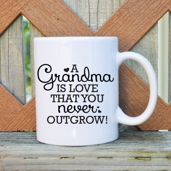 A Grandma is Love you never outgrow by TickledTealBoutique, $14.99