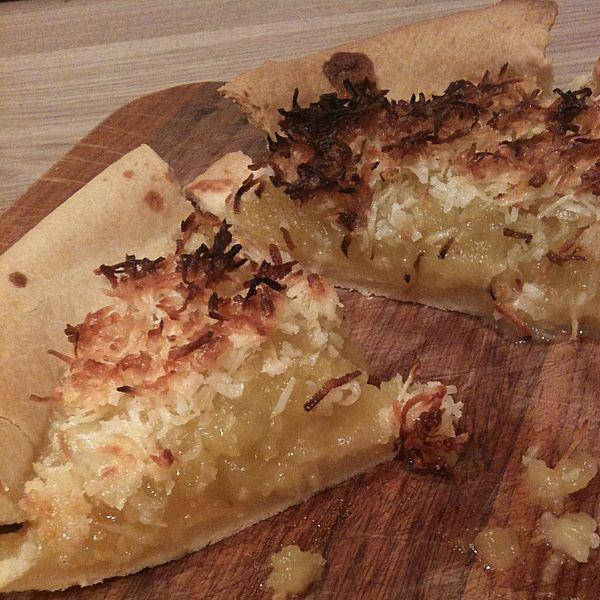 Choko Coconut Pie (Dessert) - Photo by FoodFoodFood alt=