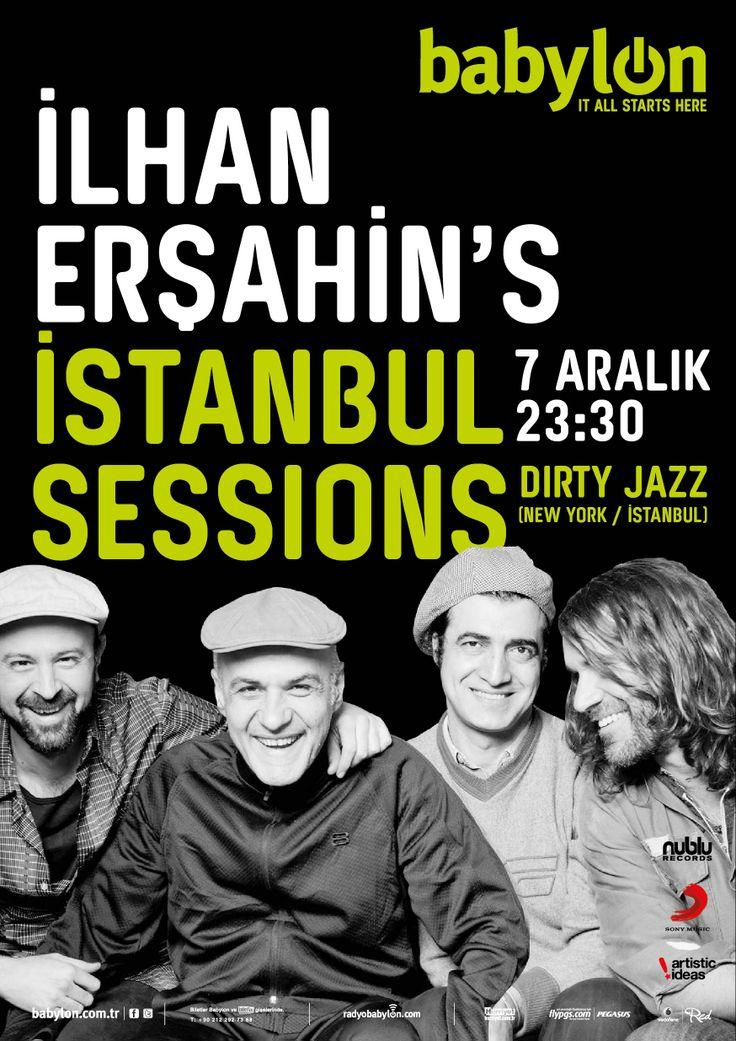 İlhan Erşahin's İstanbul Sessions - 7 Aralık 2013 Cumartesi