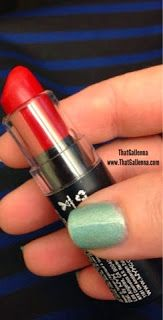 ThatGalJenna - NYX Cosmetics Review and Swatches - Matte Lipstick - Perfect Red