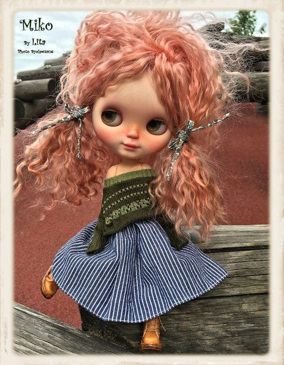 MiKO Ooak Custom Blythe Doll by ByAlsw on Etsy