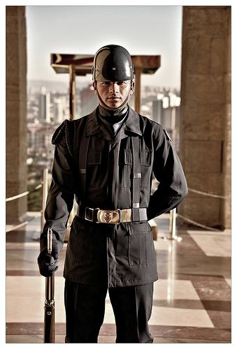 The Guard . Ankara Turkey