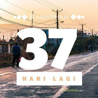 kalapahejo: Ramadhan Reminder (37 hari lagi)