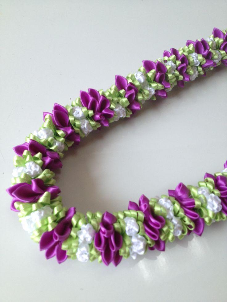 Dendrobium (Ribbon lei)