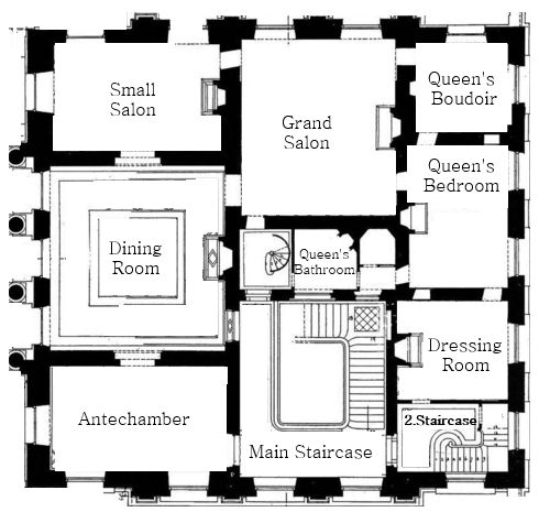 25 best ideas about petit trianon versailles on pinterest for Versailles house floor plan