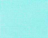 Tiny gingham in aqua - Michael Miller