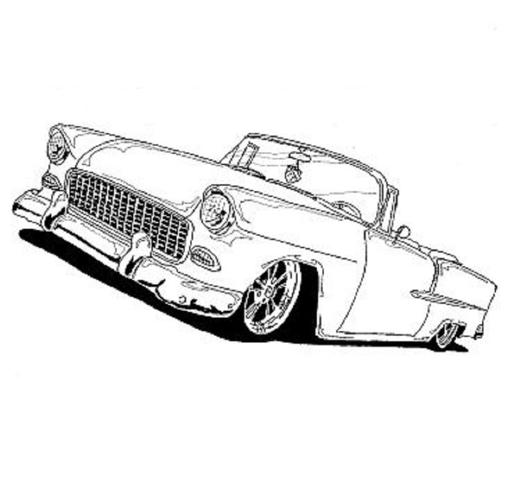 Pickup Truck Coloring Pages as well Classic Car Coloring Pages together with Dibujos Para Colorear De Coches as well How To Draw Vanossgaming Logo besides Car Coloring Pages. on corvette coloring pages