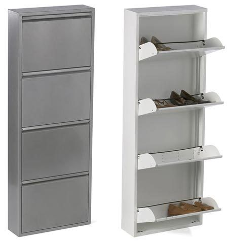 25 best ideas about wall mounted shoe rack on pinterest ikea organization shoe wall and - Shoe racks for small spaces collection ...