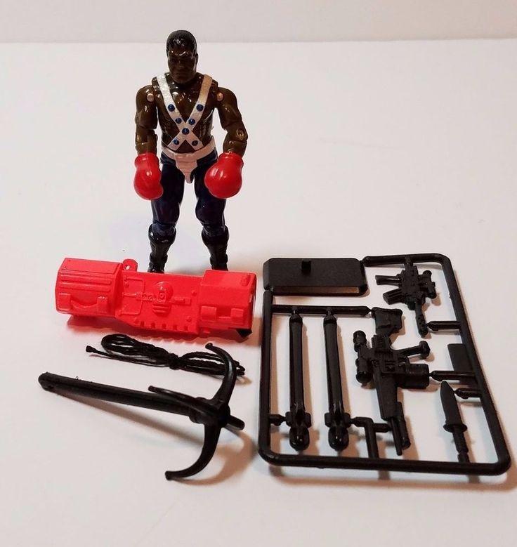 Vintage GI Joe Balrog Street Fighter II 2 Hasbro Action Figure Weapons Complete…