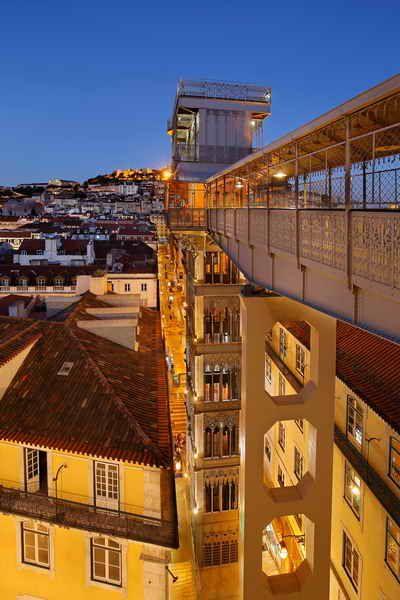 Santa Justa Lift (Portuguese: Elevador de Santa Justa) or Carmo Lift in Lisbon, Portugal.