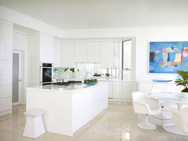 Malibu Beach House By Jamie Bush U0026 Co.    Such A Bright Kitchen! Beach House  InteriorsWhite ...