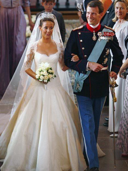 Princess Marie: When she married Denmark\'s Prince Joachim, Marie wore a wedding…