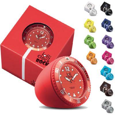 RELOJ LOLLI CLOCK ROCK REF:REL-70888   Reloj de Escritorio. Caja Plástica ABS Mecanismo Japonés (PC21S) 3 Manecillas Tablero Impreso Indicadores de Alto Relieve Logo Impreso Mecanismo Removible Bisel Giratorio Empaque Apropiado para Regalo. Tipo de Producto: IMPORTADO Medidas: Diámetro de Caja: 4,4 cm. Peso: 65 gr. Colores Disponibles: Amarillo, Naranja, Rojo, Blanco, Gris, Verde Claro, Magenta, Cafe, Negro, Azul Claro, Azul Oscuro y Morado.