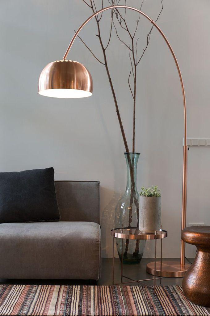 cuivre, laiton, tendance, décoration, maison, chaleur, douceur, luminaire, déco, maison