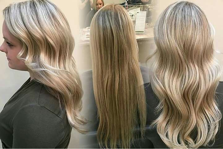 Blonde refresh with traditional highlights