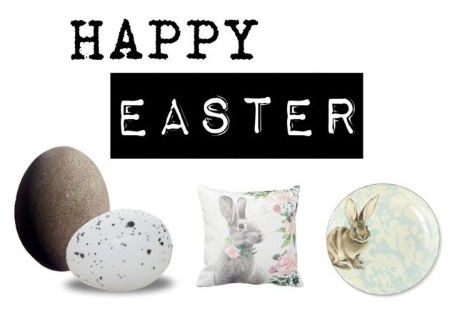 """Happy easter"" by emily-lithen on Polyvore featuring interior, interiors, interior design, home, home decor, interior decorating, Williams-Sonoma and Fons & Origo"