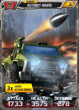 Event Autobot Hound - Alt