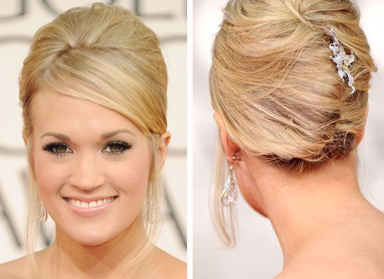 Holidays are a great time for updos. There's always parties to attend, and who wants hair in their face while sipping cocktails and downing hors d'oeuvres? An understated classic, the French Twist ...