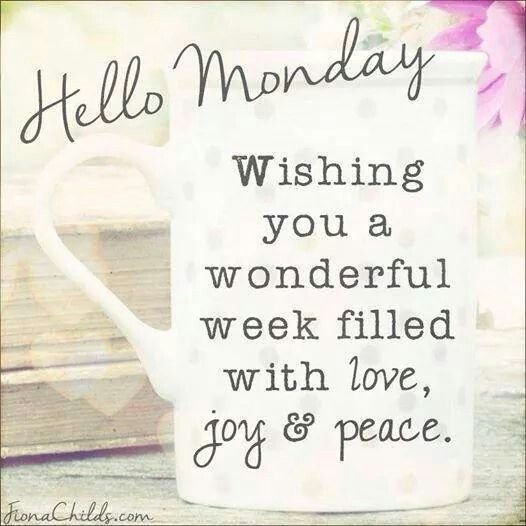 Hello Monday! ~ Positive Quotes About Work