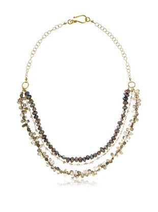 71% OFF Robindira Unsworth Triple Strand Labradorite Necklace