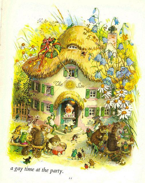 Fritz Baumgarten--The party by Tiny tin, via Flickr