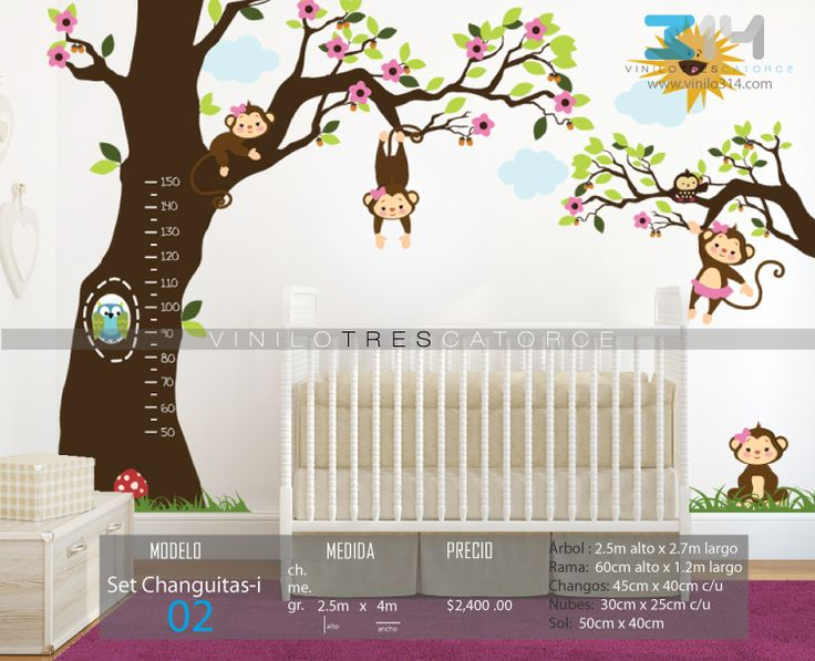 Decoracion Infantil Pared ~ Stickers on Pinterest