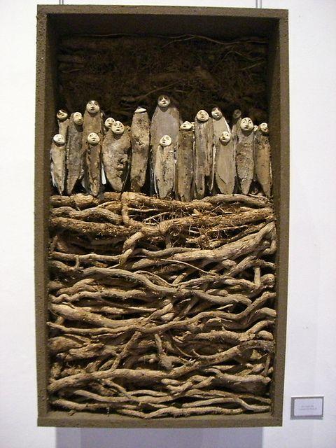 Jephan de Villiers, Nomades du Silence, exposition Abbaye de Beaulieu, Ginals, été 2012 by pierre ballaran, via Flickr