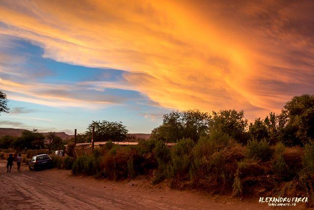 Sunset in Atacama, San Pedro de Atacama