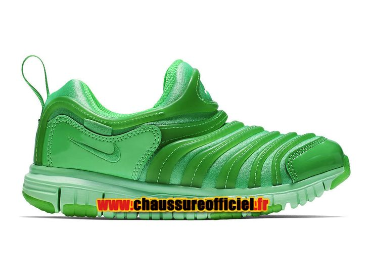 Nike Dynamo Free PS Chaussures Nike Running Pas Cher Pour Enfant Vert 343738-302