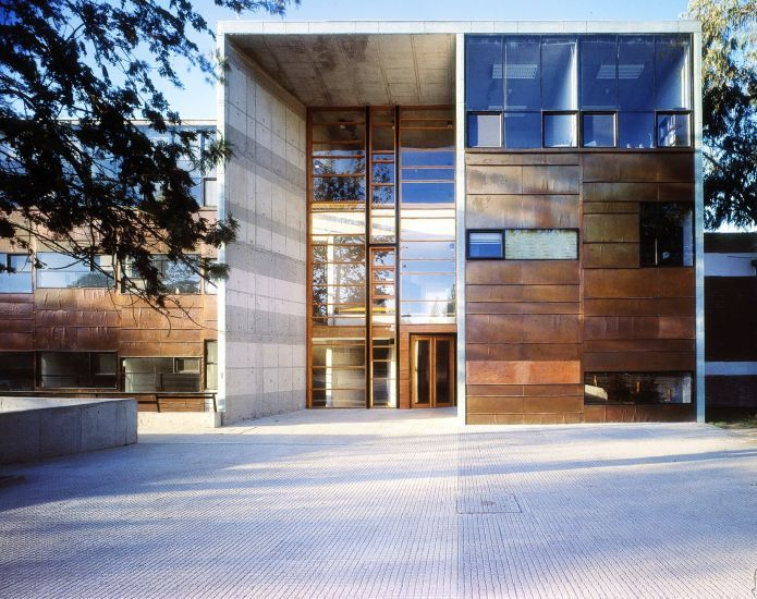 Faculty of Mathematics in Santiago, Chile by Architect Alejandro Aravena.