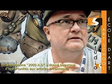 Syn Studio @ The Montreal Comic Con (2013): Interview with Richard Stark of Elephantmen #comics