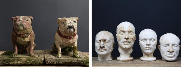 Salvage Hunters dodenmaskers honden