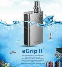 Nou ! In Stoc ! Promotie ! Joyetech eGrip II , design imbunatatit , utilizare facila , o tigara electronica pe care o recomandam cu caldura . http://www.mahoarca.ro/tigara-electronica-premium.html/joyetech-egrip-2-80w-2100mah  Foloseste sistemul BF de rezistente , prezennt la Aio si Cubis