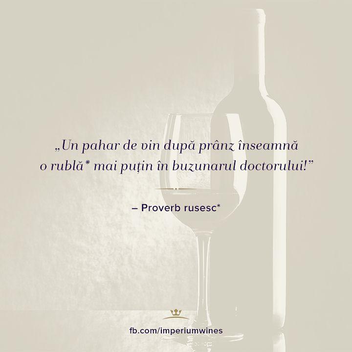 Un proverb rusesc care pune accent pe latura cea mai benefică a vinului. #citate #citatedesprevin