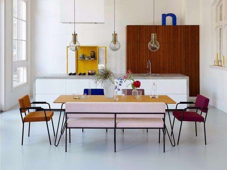 FEST Amsterdam. Dutch design in Paris l Modern minimal Kitchen l Open Concept l Dining
